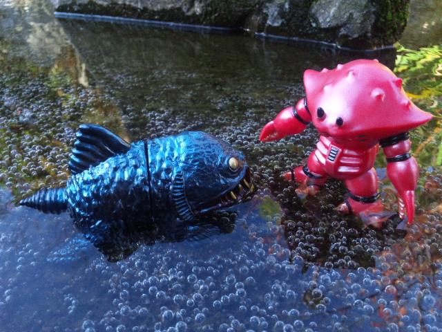 深海魚vsスー