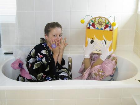 お風呂でいやん