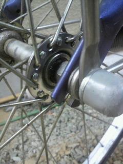 ママチャリ自転車ハブオーバーホール完了