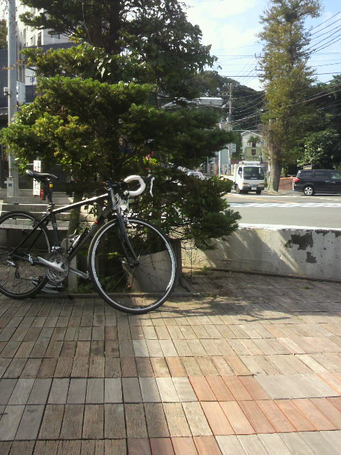 100kmライド10.7 行きいつもの渚橋 AMPM10.7