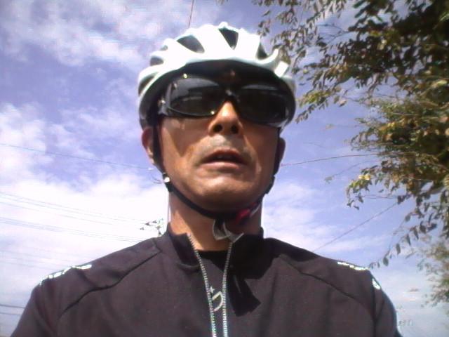 100kmライド 怪しい50親父と秋の空