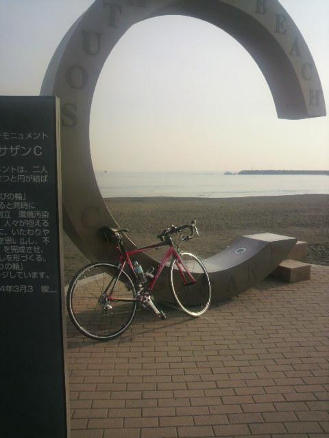 茅ヶ崎サザンビーチモニュメントいつもの11,25