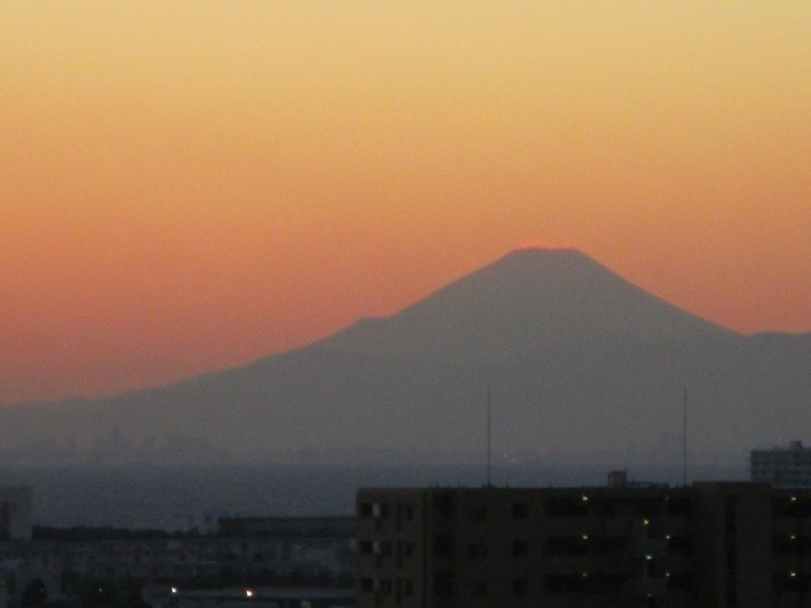マジックアワー 富士山