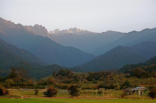 里から見た永田岳