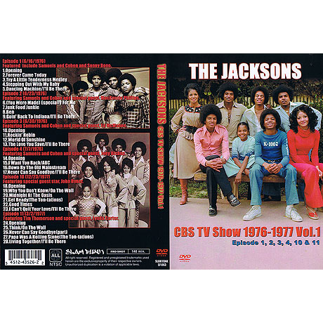 THE JACKSONS CBS TV SHOW 1976-1977 Vol.1