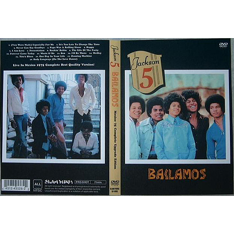 Jackson5 DVD LIVE IN MEXICO 1975