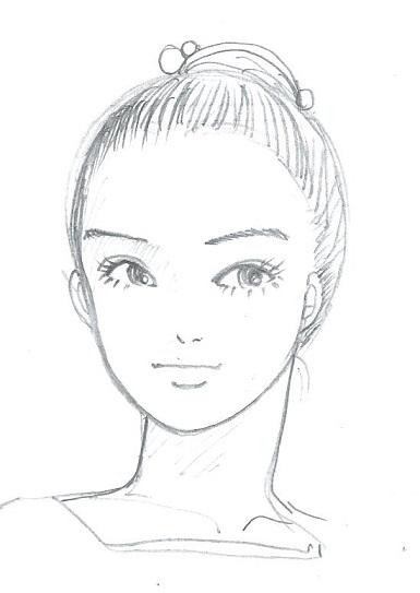 日本舞踊の女の子2