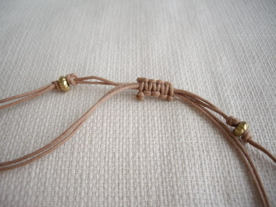 agean knot necklace