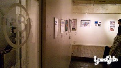 &'s gallery 3階です