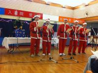 病院でクリスマスコンサート1