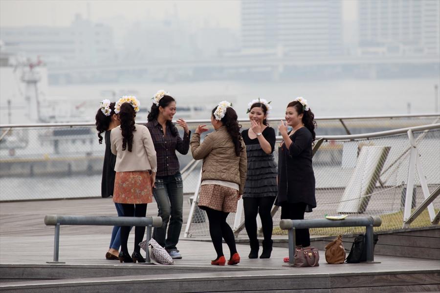 横浜大桟橋フラダンス02