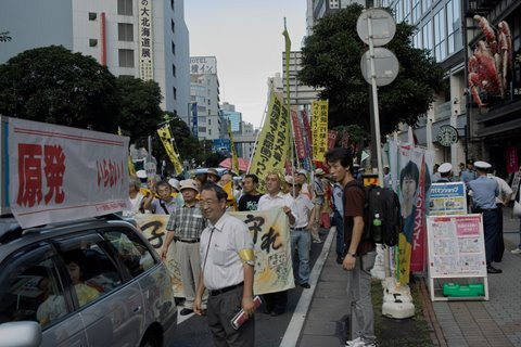 2011年9月11日原発反対デモ吉川