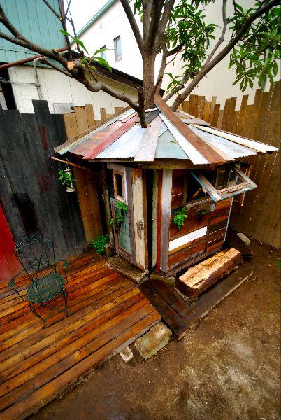 小屋クリエイター ツリーハウス