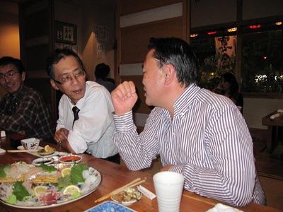 20111119池先生とガコヤン初宴会 ブログ用 (8)