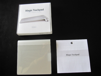 「Magic Trackpad」(マジックトラックパッド) (3)
