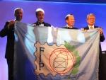 FIP旗引継ぎ(ブラジル→韓国)