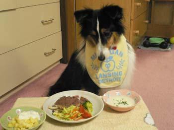3誕生日ディナー