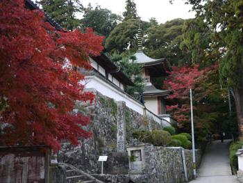 4お寺の紅葉