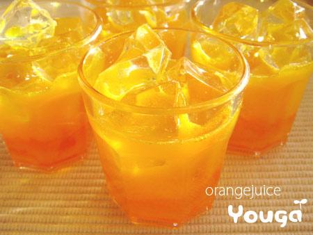 オレンジジュース☆