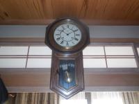H261125地震で停まった時計