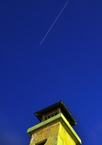 ISSの光跡14.11.28