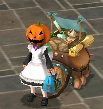 かぼちゃマスク!