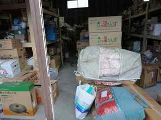 農協の倉庫