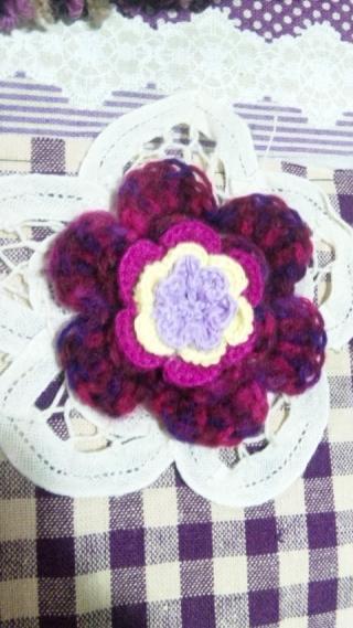 紫モチーフ