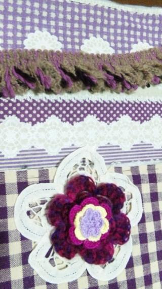 紫モチーフと記事
