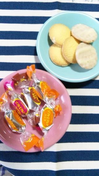 エクレアとクッキー