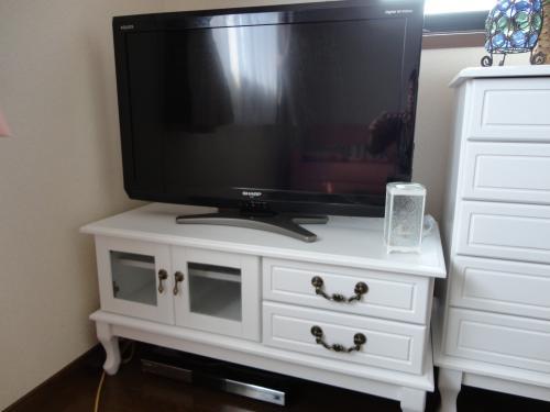 テレビ台とテレビ