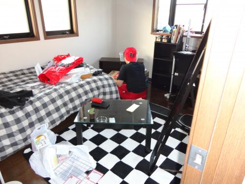 翔太と部屋