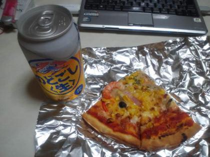 110815_ビール&ピザ