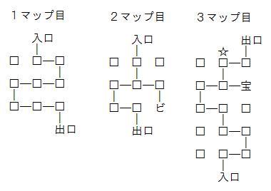 武蔵伝透明床マップ