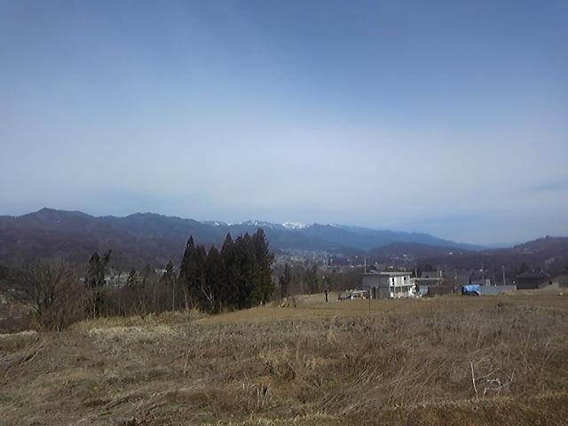 山がきれいに見えました2