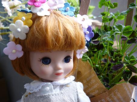 ベチこの頭が花畑。