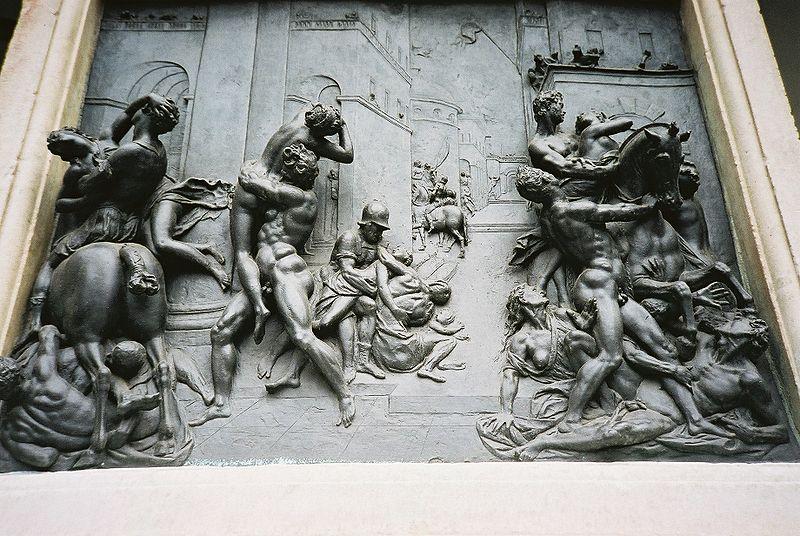 サビニ女の掠奪 - フィレンツェ...