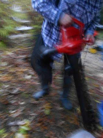 落ち葉掃除機3