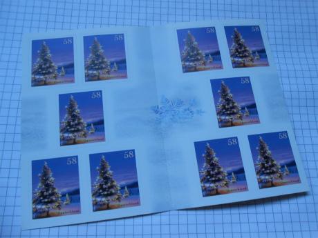 クリスマス切手1