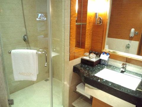 上海 明悦(ミンヤ)ホテル バスルーム