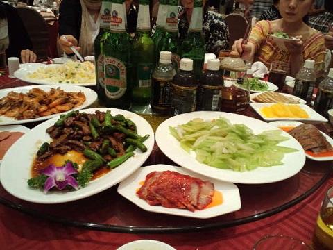 上海 打ち上げ お料理 1部