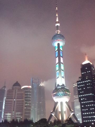 上海 テレビ搭と上海ヒルズ