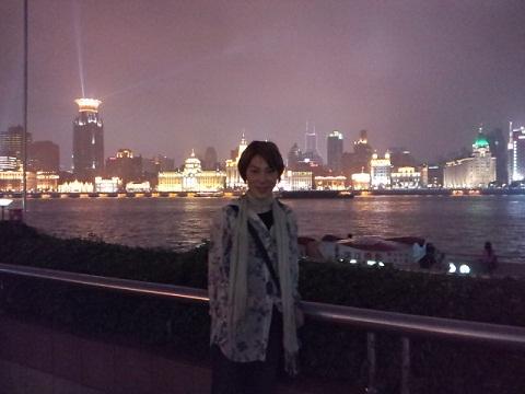 上海 夜景とゆうま