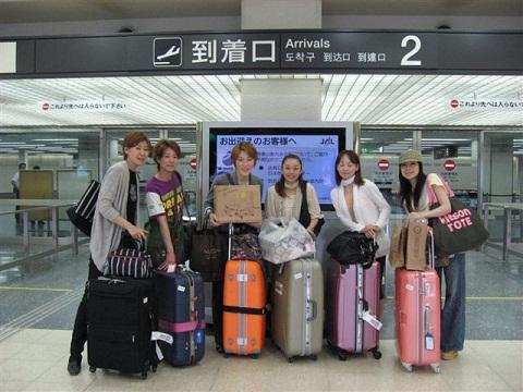 上海 帰国 大阪空港