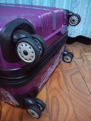 スーツケースダブルコマ