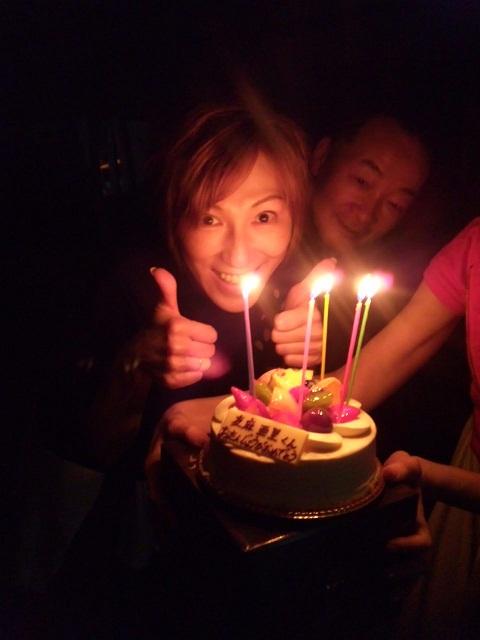 誕生日 私は男役 ケーキ