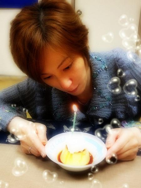 誕生日プリン2