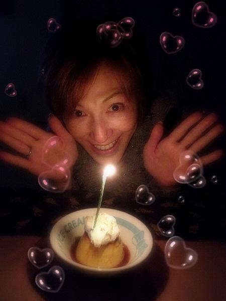 誕生日プリン1