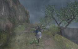 高地雨風山道