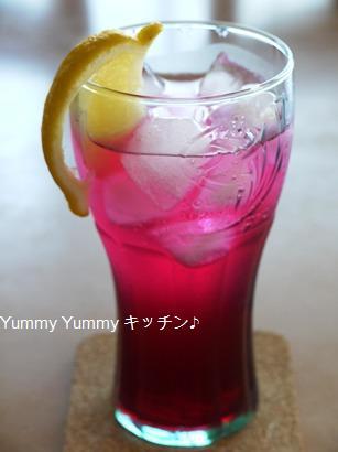 赤紫蘇サイダー♪